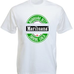 Marihuana Beer Tee-Shirt White