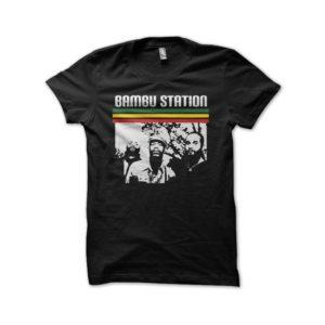 Rasta Tee-Shirt Bambu Station t-shirt black