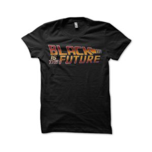 Rasta Tee-Shirt Black t-shirt Black Is The Future
