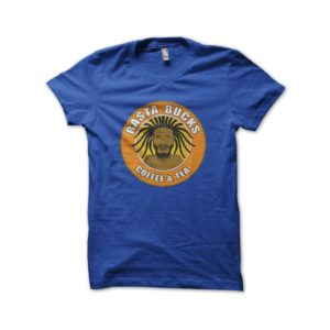 Rasta Tee-Shirt Blue shirt rasta coffee bucks