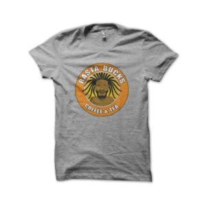 Rasta Tee-Shirt Gray shirt rasta bucks coffee