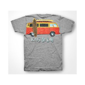 Rasta Tee-Shirt King Of Life t-shirt gray