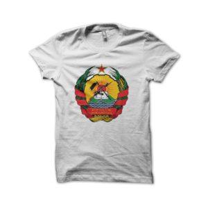 Rasta Tee-Shirt Mozambique t-shirt