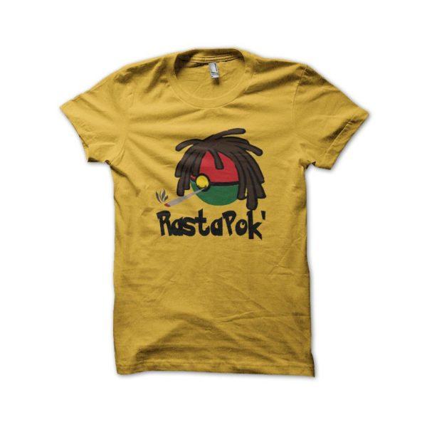 Rasta Tee-Shirt Pokemon parody shirt Rasta Pok 'yellow