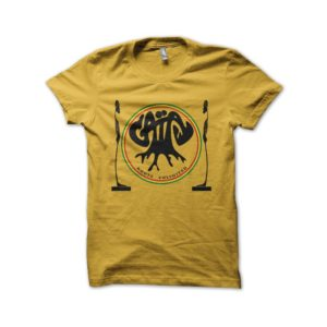 Rasta Tee-Shirt Shirt gaia root unlimited yellow