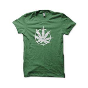 Rasta Tee-Shirt Shirt green buffer cannabis