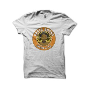 Rasta Tee-Shirt Shirt rasta white coffee bucks