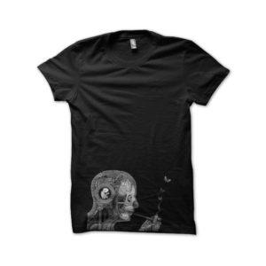 Rasta Tee-Shirt T-Shirt THC black pipe Anatomy