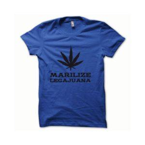 Rasta Tee-Shirt T-shirt Marilize Legajuana black blue