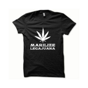 Rasta Tee-Shirt T-shirt Marilize Legajuana white black