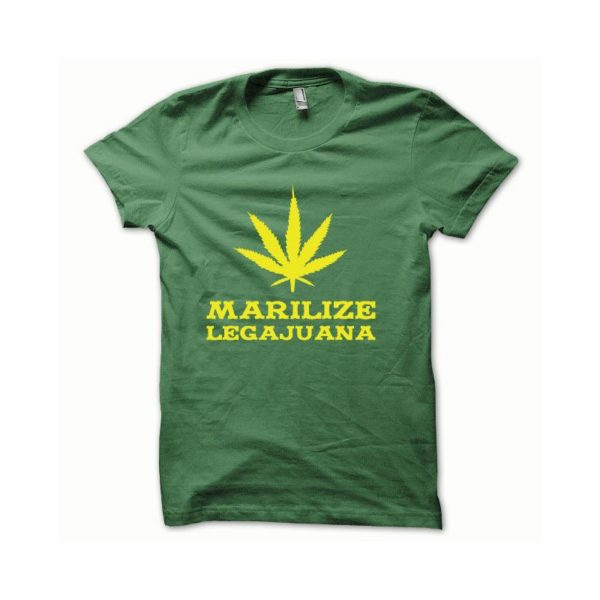 Rasta Tee-Shirt T-shirt Marilize Legajuana yellow green