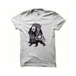 Rasta Tee-Shirt T-shirt Rastafarl black white