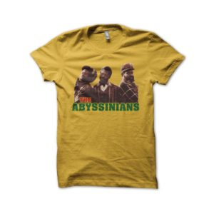 Rasta Tee-Shirt T-shirt The Abyssinians yellow