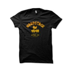 Rasta Tee-Shirt Tee Shirt University Black Woodstock 1969