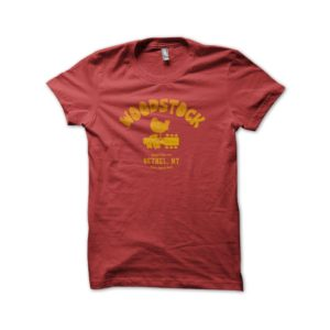 Rasta Tee-Shirt Tee Shirt University Red Woodstock 1969