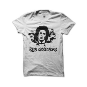 Rasta Tee-Shirt The wailers white shirt