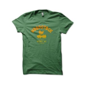 Rasta Tee-Shirt Woodstock 1969 Tee Shirt University Green
