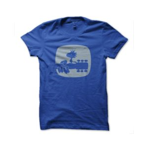 Rasta Tee-Shirt Woodstock snoopy t-shirt royal blue