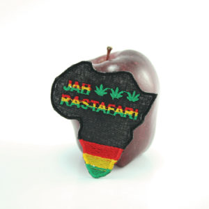 Patch Africa Jah Rastafari