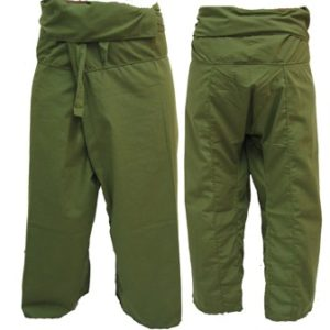 Trousers Thai Fisherman Pants Army Green