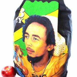 Backpack Jamaica Flag Theft Protection Zip Hidden Inside Back