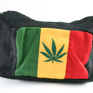 Bag Hemp Big Size Shoulder Cannabis Leaf