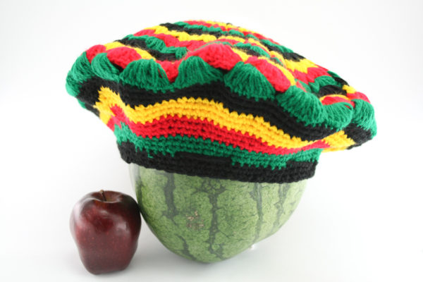 Tam Rasta Mexican Pattern Green Yellow Red