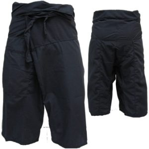 Trousers Thai Fisherman Pants Black