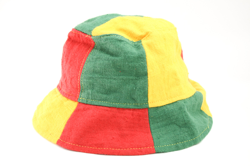 86997d08a36 Bucket Hat Green Yellow Red Reggae Colors - Rasta-Products.com