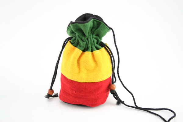 Bag Purse Hemp Small Green Yellow Red