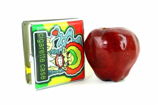 Cigarette Case Rastaman Smoking Joint