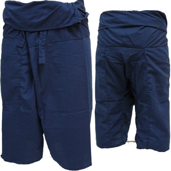 Trousers Thai Fisherman Pants Apple Dark Blue