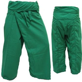 Trousers Thai Fisherman Pants Dark Green