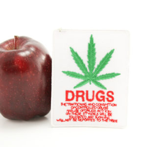 Patch White Drug Traffic
