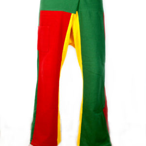 Trousers Fisherman Pants Thai Rasta Green Yellow Red
