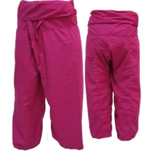 Trousers Thai Fisherman Pants Fuchsia Pink