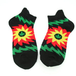 Low-cut Socks Black Sun All Sizes