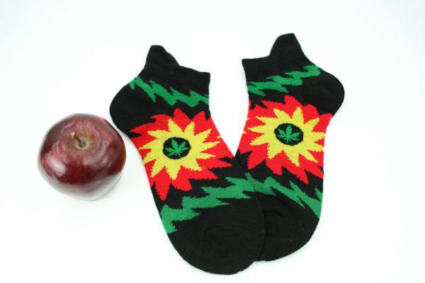 Low-cut Socks Black Sun All Sizes