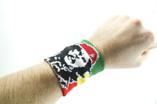 Rasta Shop Che Guevara Wristband Green Yellow Red Stripes Writsband with Che