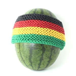 Headband Rasta 3 Inches