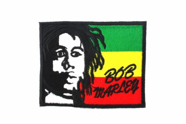 Patch Rastaman Portrait