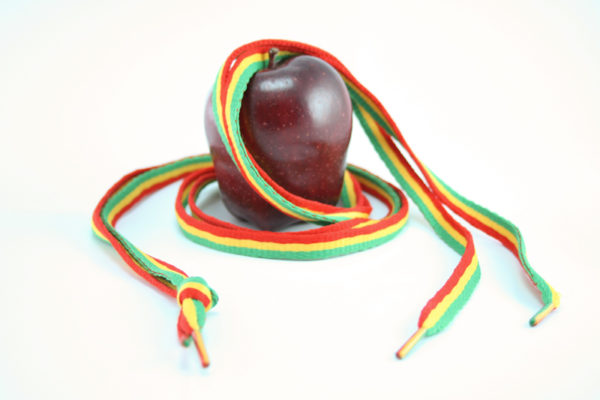 Rasta Laces Green Yellow Red