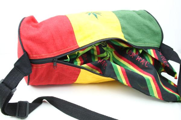 Bag Hemp Tube Biggest Size Cannabis Leaf
