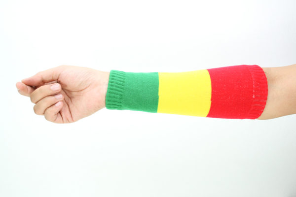 Sleeve Sweatband Marijuana Sun Protection