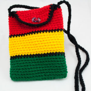 Bag Cigarettes Rasta Knitted Shoulder Button