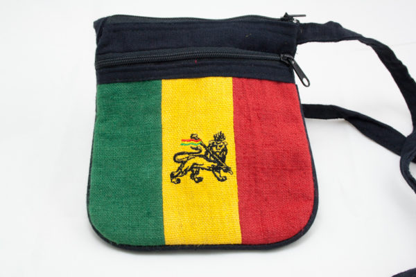 Bag Hemp Lion of Judah Shoulder Zip