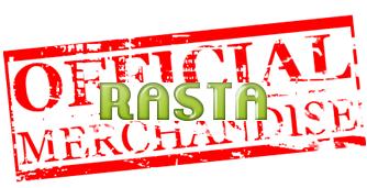 Rasta Flag Rastaman Sitting Full Body Big Size