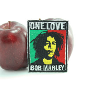 Patch Rastaman Portrait One Love