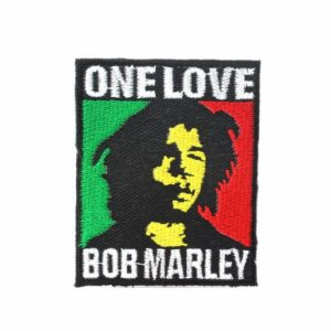 One Love Patch Bob Marley Memorabilia Rasta Patch to Sew-on or Stitch-on