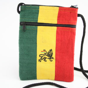 Bag Passport Hemp Lion of Judah Zip